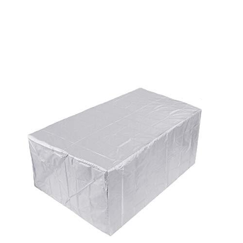 AYGANG Cubierta Impermeable al Aire Libre Patio Muebles de jardín Polvo Covers Sofá Silla Mesa Cubierta for el Polvo Cubierta a Prueba de Lluvia Nieve Cubierta de Muebles 771 (Size : 123x61x72cm)