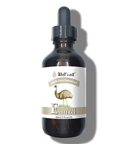 Well's 100% Pure Emu Oil 2oz / Improves Skin Condition/Relieves Pain/Anti-Inflammatory
