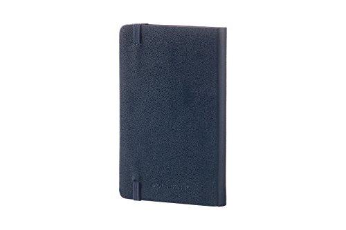 モレスキンノートクラシックノートブックハードカバールールド(横罫)ポケットサイズサファイアブルーMM710B20