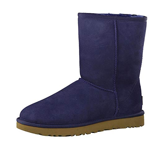 UGG Female Classic Short II Classic Boot, Navy, 6 (UK)