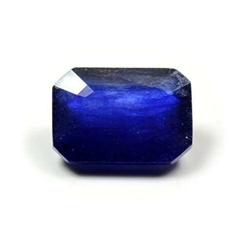 GemsOnClick Zafiro azul natural 4 quilates corte esmeralda suelto facetado piedra natal septiembre Precio al por mayor