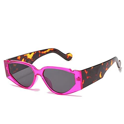 SXRAI Gafas de Sol Mujer Moda Mujer Mujer Conducción Gafas de Sol,C4