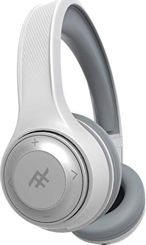 iFrogz Bluetooth Over-Ear Kopfhörer 'Aurora' mit Mikrofon und Geräuschunterdrückung, Weiß