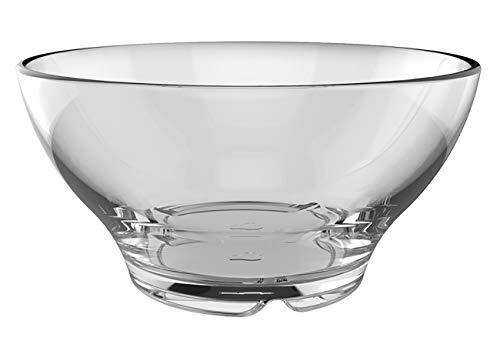 Leonardo Senso Müslischale, 6-er Set, 530 ml, Durchmesser 14 cm, spülmaschinengeeignet, Klarglas, 024038