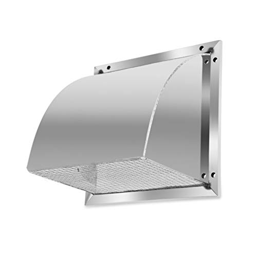 Why Should You Buy LXLTL 304 Stainless Steel Ventilation Grill Square Vent Cowl Screen Hood Indoor &...
