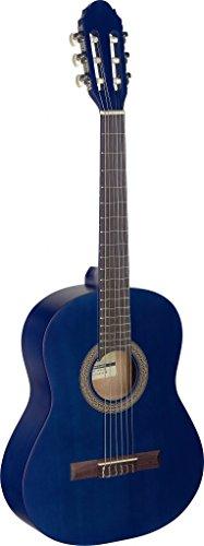 Stagg C4303/4Größe Name Klassische Gitarre–Schwarz 3/4 blau