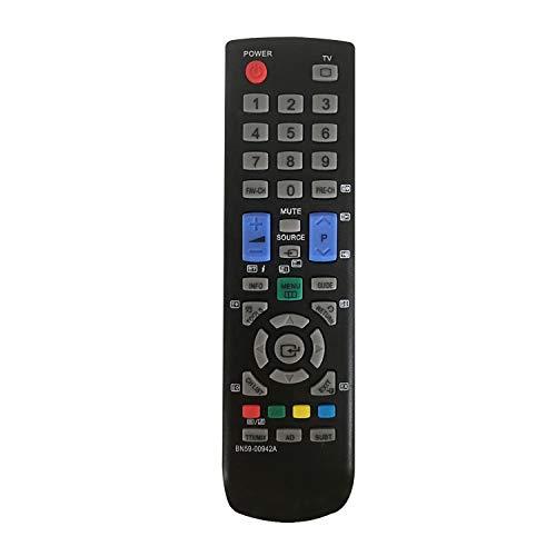 MYHGRC Neue Ersatz Fernbedienung BN59-00942A für Samsung Fernbedienung smart tv 4K LCD LED HD Fernseher LE26A456C2C LE26A456C2D LE26A466C2M LE26A467C1W LE32A436T1C LE32A436T1D LE32A437T2C LE32A437T2D