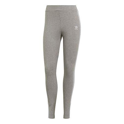 adidas 3 Stripes Tight Leggings, Medium Grey Heather, 44 para Mujer
