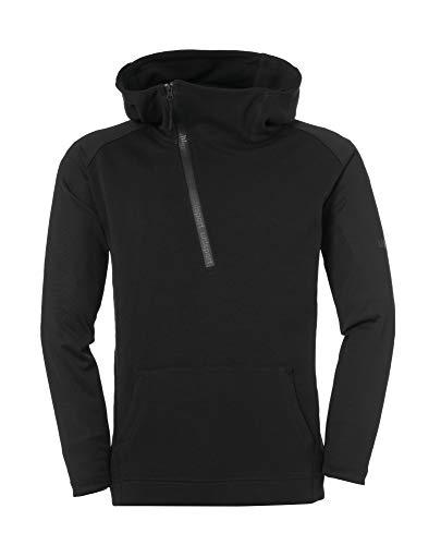 uhlsport Herren Essential Pro Zip-Hoodie, schwarz, XXXL