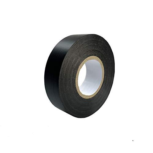 Keephot – 15 mm x 20 m, stark klebendes Elektro-Isolierband aus PVC-Gaffer-Tape – wasserdicht, feuchtigkeitsbeständig, nicht leitend, UV-beständig (Schwarz)