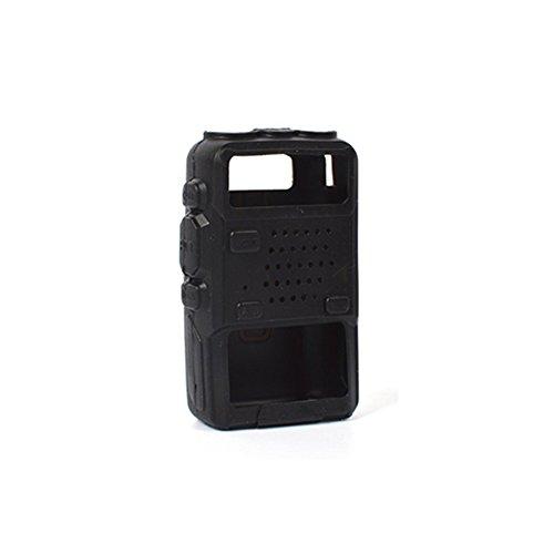 BAOFENG Walkie Talkie Schutzhülle Gummi Soft Case (schwarz) UV-5R UV-5RA UV-5RB UV-5RC UV-5RE