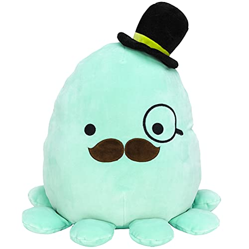 Squishmallow 12-Inch Fancy Octopus - Add Zobey to Your Squad, Ultrasoft Stuffed Animal Medium-Sized Plush Toy, Official Kellytoy Plush