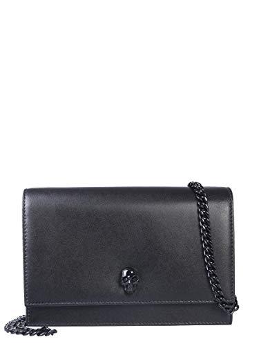Alexander McQueen Luxury Fashion Donna 5823581CW0V1000 Nero Borsa A Spalla | Autunno Inverno 19