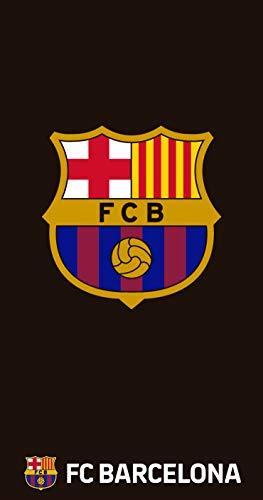 TEXTIL TARRAGO Toalla FCB Futbol Club Barcelona FCB 90x170 cm 100% Algodon Licencia Oficial FCB FCBTG2