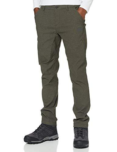 Jack Wolfskin Winter Travel Pants, Pantaloni Softshell Uomo, Marrone, 48