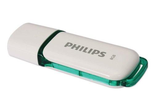 Philips FM08FD70B/97 Unidad Flash USB 8 GB USB Tipo A 2.0 Verde,...