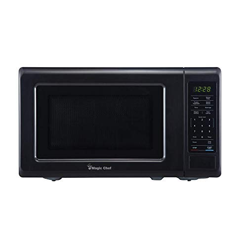 Magic Chef HMM770B Countertop Microwave - Black/Gray 0.7 Cubic feet