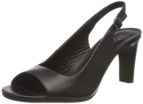 Ecco Damen ELEVATE75SLEEKSANDAL Peeptoe Pumps, Schwarz (Black 1001), 35 EU