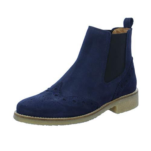 SPM Shoes & Boots Damen Stiefeletten Chelsea 62326588-1W0-06-0309 blau 195519