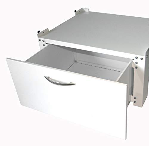 Waschmaschinen - Untergestell 60x50x30cm, 150 KG, Ausführung 3: mit Schublade, Marke: Szagato, Made...