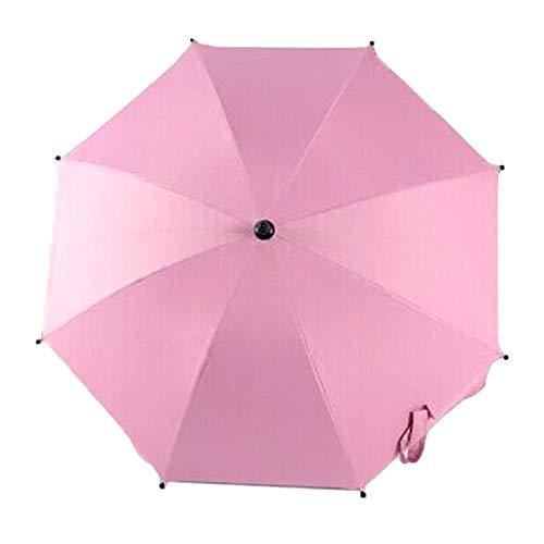 Zhangl Baby Products Parapluie réglable en dentelle pour chariots de golf, poussettes/landaus et fauteuils roulants pour fournir une protection contre la pluie et le soleil (Azure)