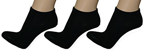 r-dessous 4, 8, 12 oder 16 Paar hochwertige Damen - Herren Sneaker Socken Sportsocken Füßlinge Kurzsocken Groesse: 43-46