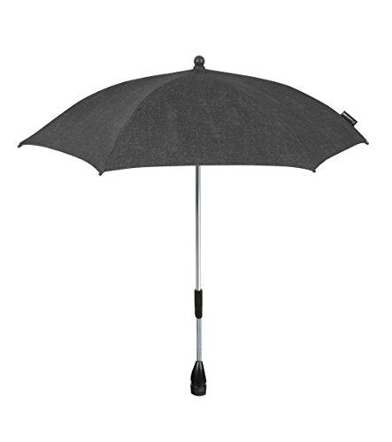 Maxi-Cosi Parasol modischer Sonnenschirm für Kinderwagen mit UV-Lichtschutz 40 Plus inklusiv Befestigungsclip, nomad black, schwarz