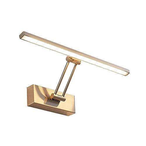 Lucande LED Wandleuchte, Wandlampe Innen 'Thibaud' (Modern) in Alu aus Metall u.a. für Wohnzimmer & Esszimmer (A+, inkl. Leuchtmittel) - Bilderleuchte, Wandstrahler, Wandbeleuchtung Schlafzimmer /