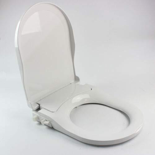 Bidet WC Sitz,Nicht elektrisch Dusch WC Sitz mit Frischwasserspray und Doppelt Düse,für Intimpflege (D-Form)