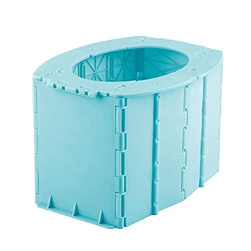 Valink - WC da esterno, pieghevole, portatile, pieghevole, per WC, ideale per campeggio, escursionismo, viaggi