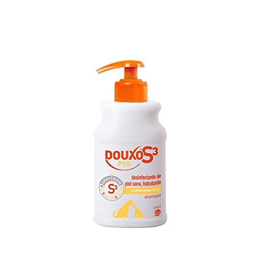 CEVA DOUXO S3 PYO CHAMPU 200ml, Negro, 200 ml (Paquete de 1) ⭐