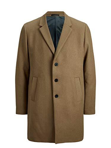 Jack & Jones JJEMOULDER Wool Coat STS Abrigo de Lana, Caqui, L...