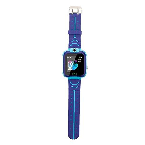 orologio intelligente con intelligente orologio Q12 telefono impermeabile intelligente braccialetto inseguitore orologio touch screen di sport dei bambini allievo astuto orologio blu