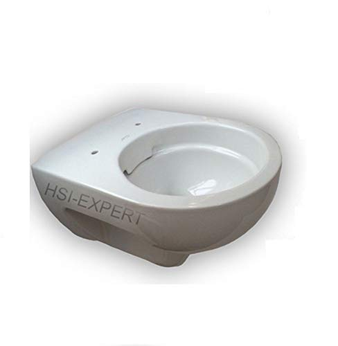 Keramag Renova Nr. 1 rimfree, Spülrandlos,Tiefspül-WC, inkl. Sitz und Beschichtung