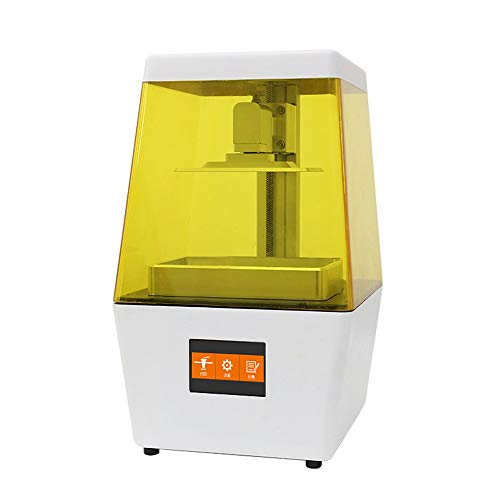 L.J.JZDY 3D Printer N4 Desktop UV LCD Resin 3D Printer gemonteerd met 3.5 Inch Groot Smart Color Touch Screen 120 * 65 * 138mm