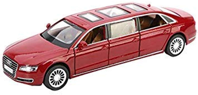 1 32 Alloy Car Model Model Model Audi A8 High Simulation Model Metal