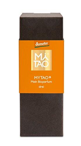 MYTAO drei, Bioparfum aus 100% naturreinen Rohstoffen, 15 ml