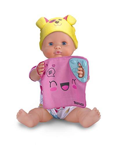 Nenuco Spielzeug, interaktive Puppe, 5 Spiele (Famosa 700014356), Modelle