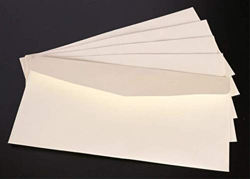 50 unids/pack Tarjeta de mensaje de sobre de papel negro blanco Carta de almacenamiento estacionario Tarjeta de papel Scrapbooking Regalo Blanco