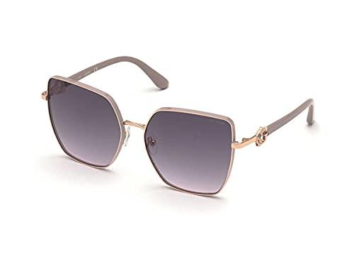 Guess Gafas de sol para mujer, GU7790, color 28B, calibre 61-17-140