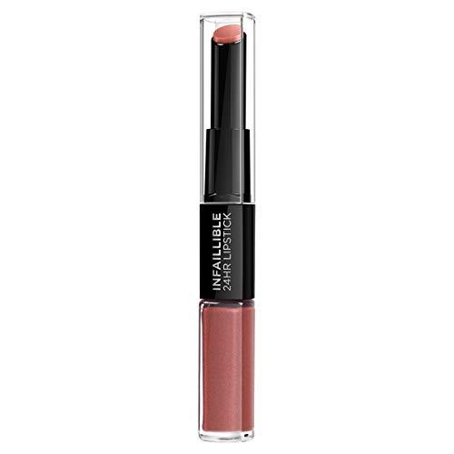 L'Oréal Paris Infaillible Rouge à Lèvres Longue Tenue 404 Corail Constant