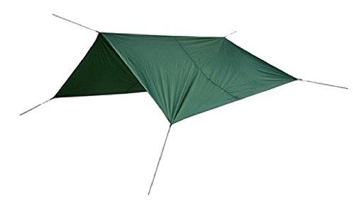 Bergans Tarp Large - Green - One Size - Leichtes robustes Planenzelt