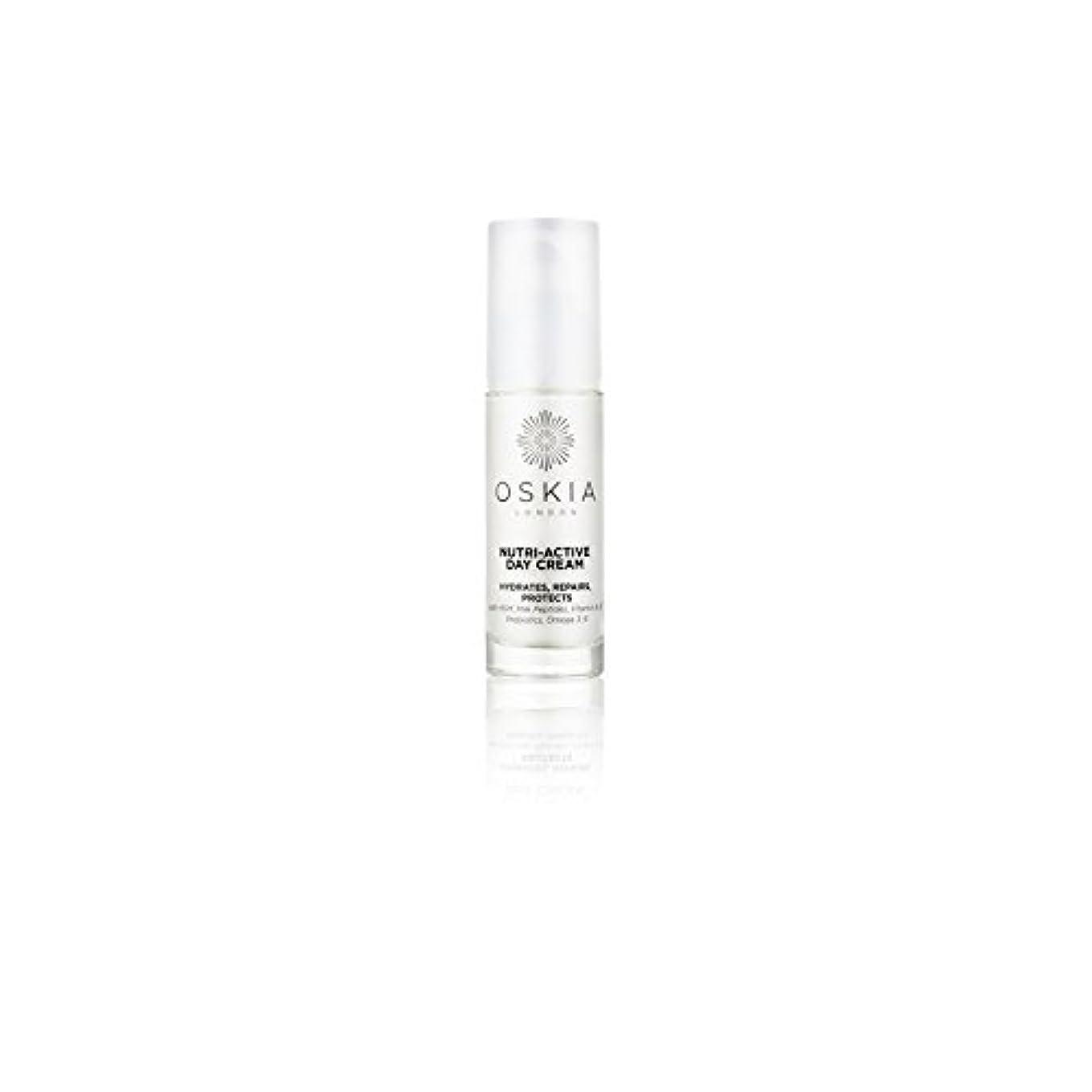 パラメータ先住民平野のニュートリアクティブデイクリーム(40ミリリットル) x4 - Oskia Nutri-Active Day Cream (40ml) (Pack of 4) [並行輸入品]
