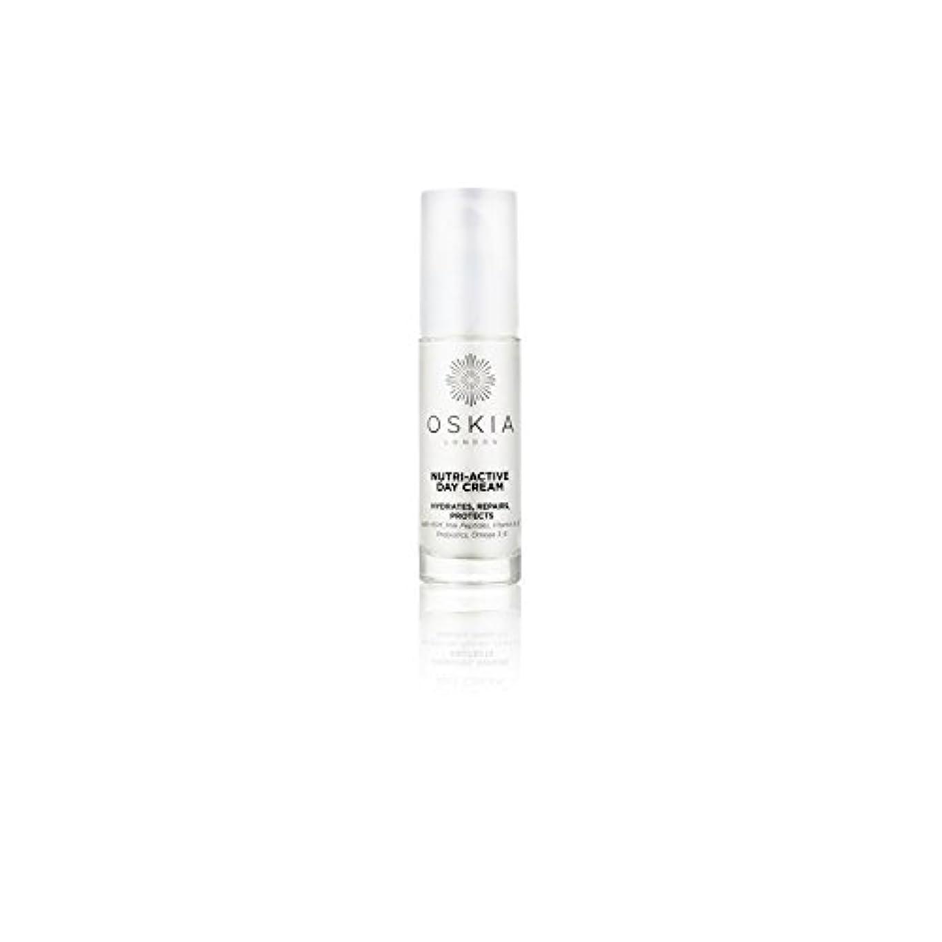 仕える繁栄現像のニュートリアクティブデイクリーム(40ミリリットル) x4 - Oskia Nutri-Active Day Cream (40ml) (Pack of 4) [並行輸入品]