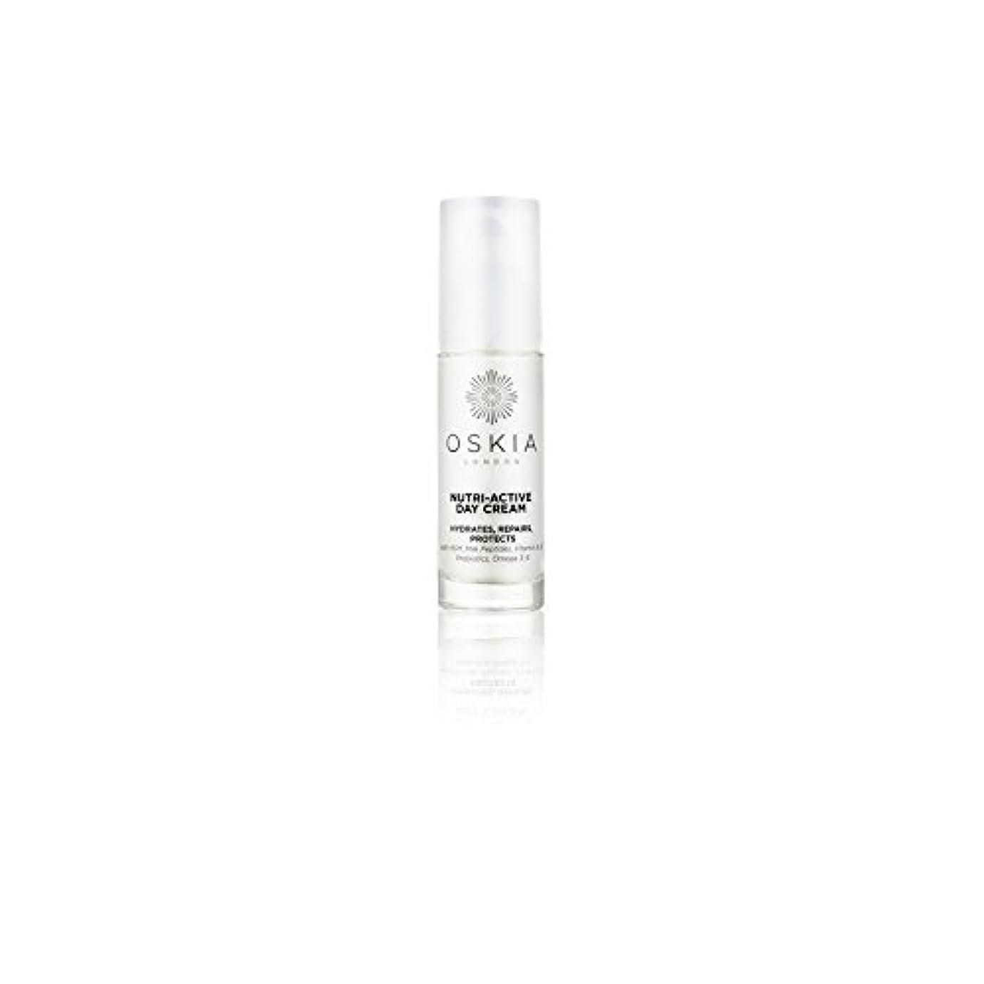 ルーボトルネック一致するのニュートリアクティブデイクリーム(40ミリリットル) x4 - Oskia Nutri-Active Day Cream (40ml) (Pack of 4) [並行輸入品]