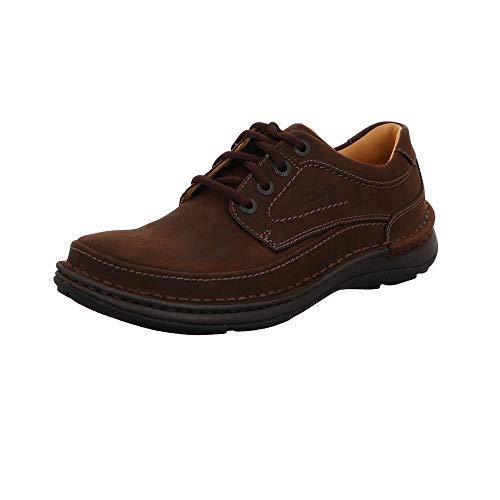 Clarks, Nature Three Derbys Herren-Schuhe, Braun - braun - Größe: 46 EU