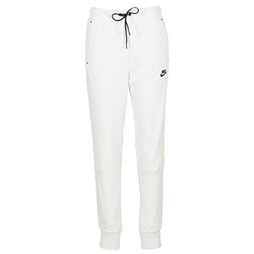 Nike 683800 - Pantalons de sport - Femme - Gris (gris clair/Chiné/Noir) - M