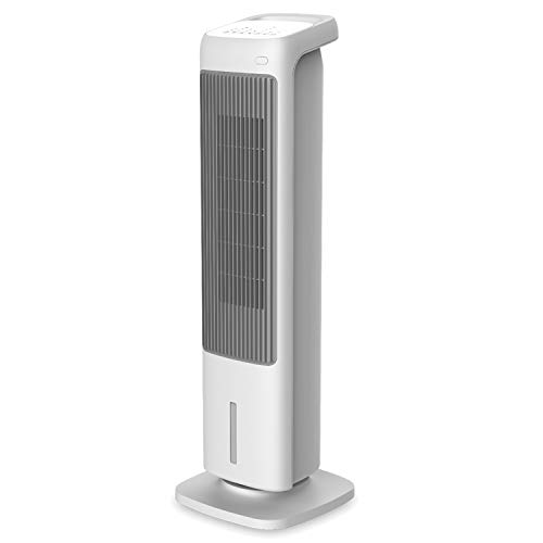 RADIALIGHT Omni Rinfrescatore d'Aria Multifunzione 4-in1 Ventilatore a Torre, umidificatore, termoventilatore ceramico,...