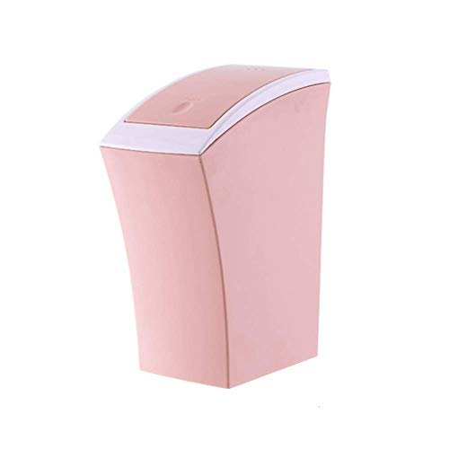 Purchase JFGX Rectangular Push-Type Trash Can Health Environmental Protection PP Material Waste Pape...