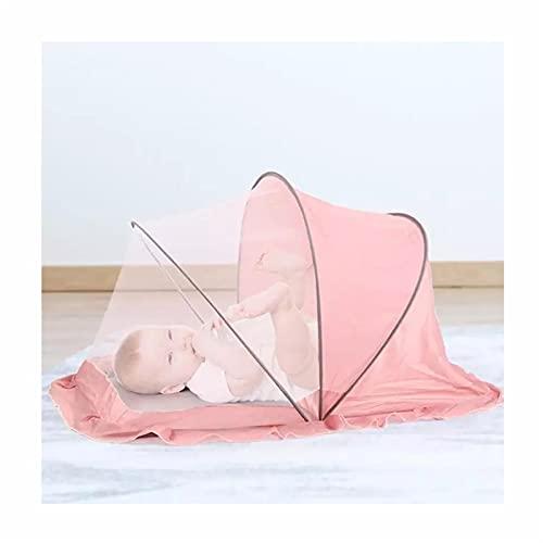 mosquitero Dormitorio de una Sola Persona Mosquitera, mosquiteras al Aire Libre para niños Plegables, instalación Gratuita de mosquiteras Plegables rotativas (Size : S)
